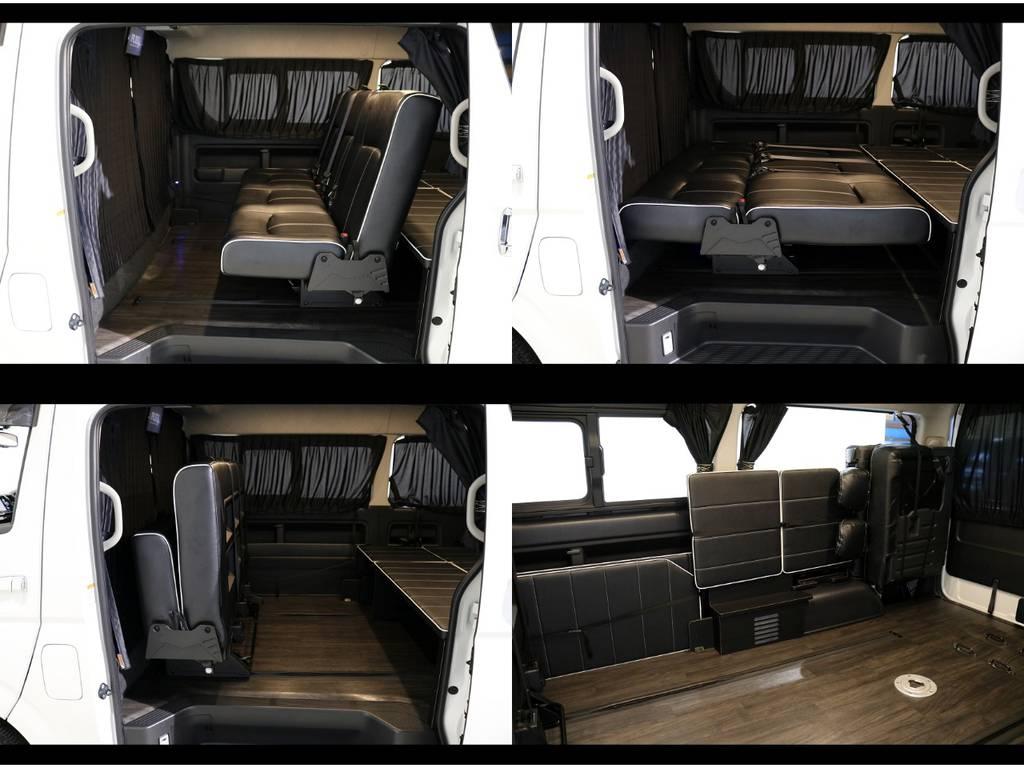 様々なアレンジが可能な内装架装です! | トヨタ ハイエース 2.7 GL ロング ミドルルーフ 4WD 内装アレンジ