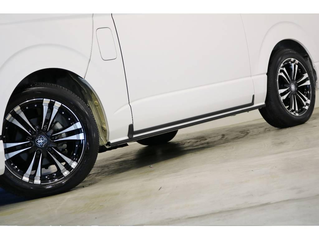 ファング18インチアルミホイール! | トヨタ ハイエース 2.7 GL ロング ミドルルーフ 4WD 内装アレンジ