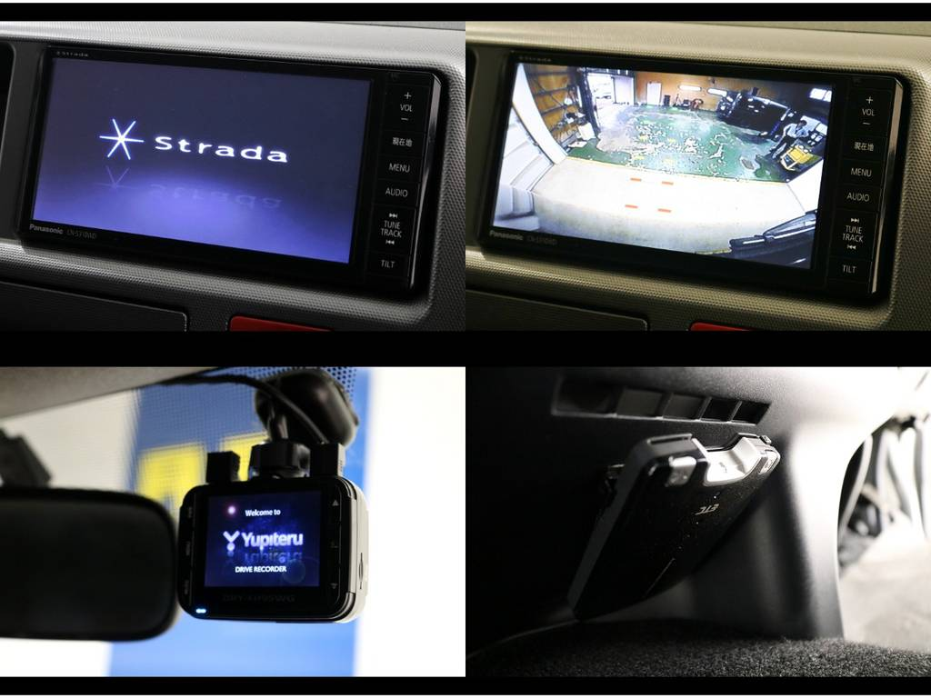 ストラーダ地デジメモリーナビ&バックカメラ&ETC!ドライブレコーダーも付いてます!