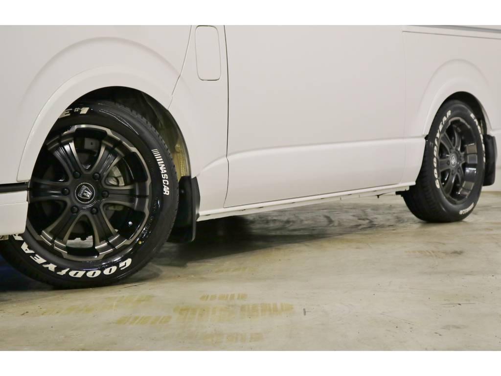 バルベロ ワイルドディープス 17インチアルミホイール(FLEX専用カラー)&グッドイヤー ナスカータイヤ!