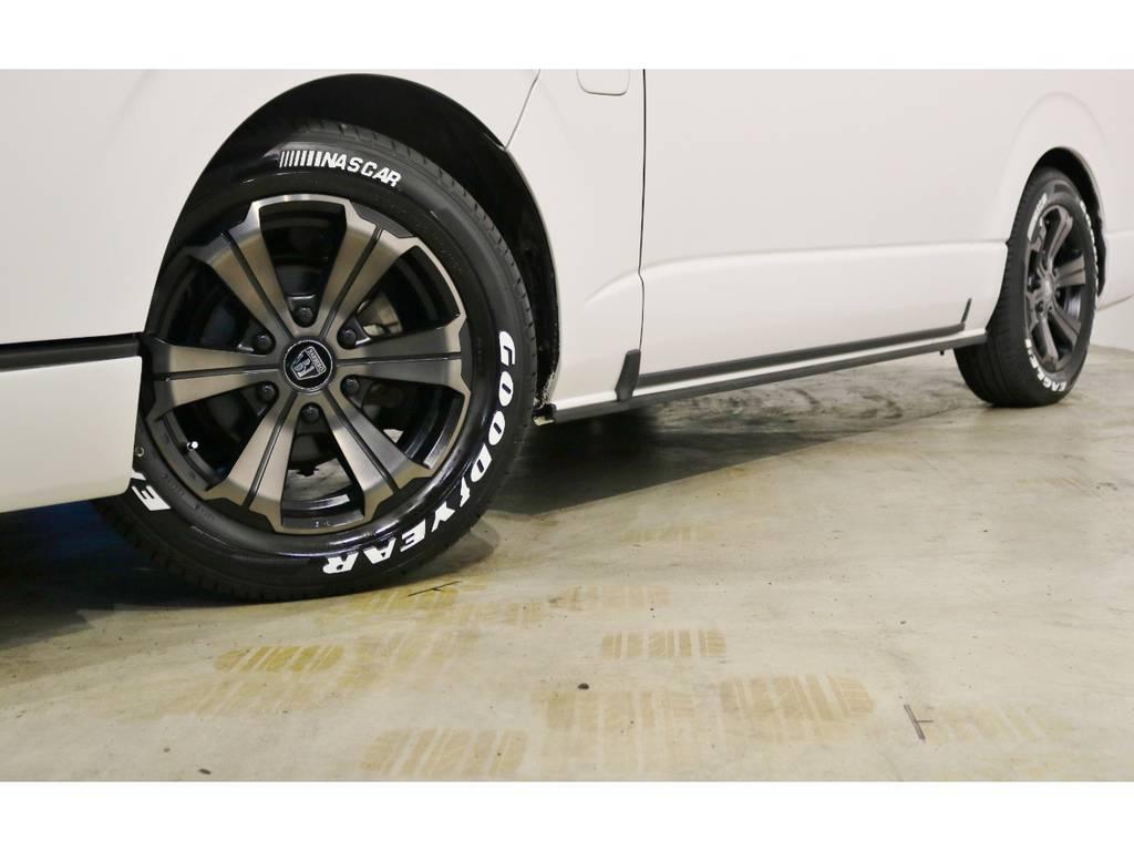 新品!バルベロ アーバングランデ17インチアルミホイール(FLEX専用カラー)&ナスカータイヤをインストール!