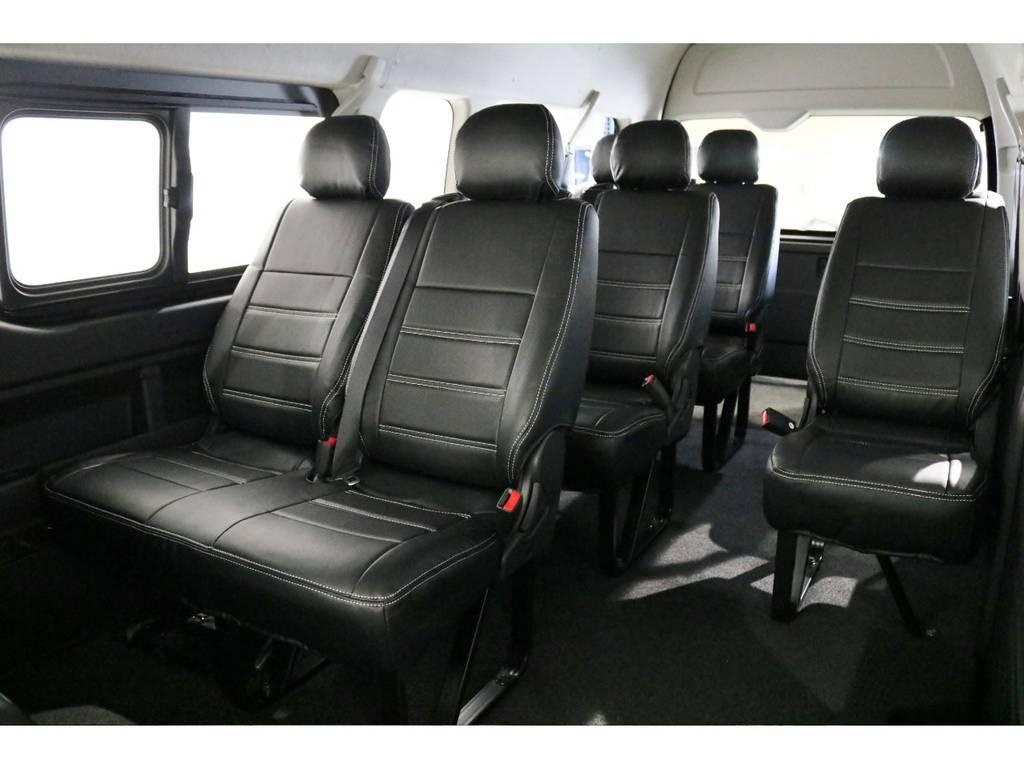 3ナンバー10人乗りシート!普通免許でも運転できます!