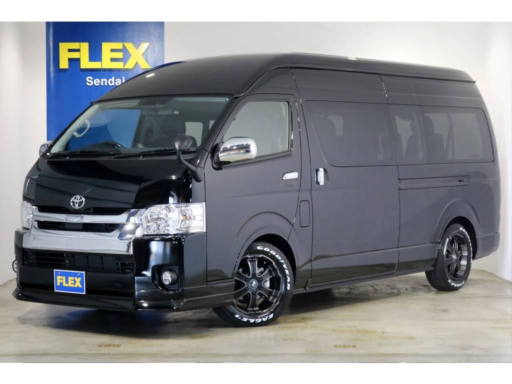 新車 グランドキャビン 4WD 寒冷地仕様 トヨタ・セーフティ・センス搭載!特設202ブラック!