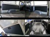 サイドトリムはレザー張りでDXの荷室イメージも変わりますね!リアすべてに施工済みです!