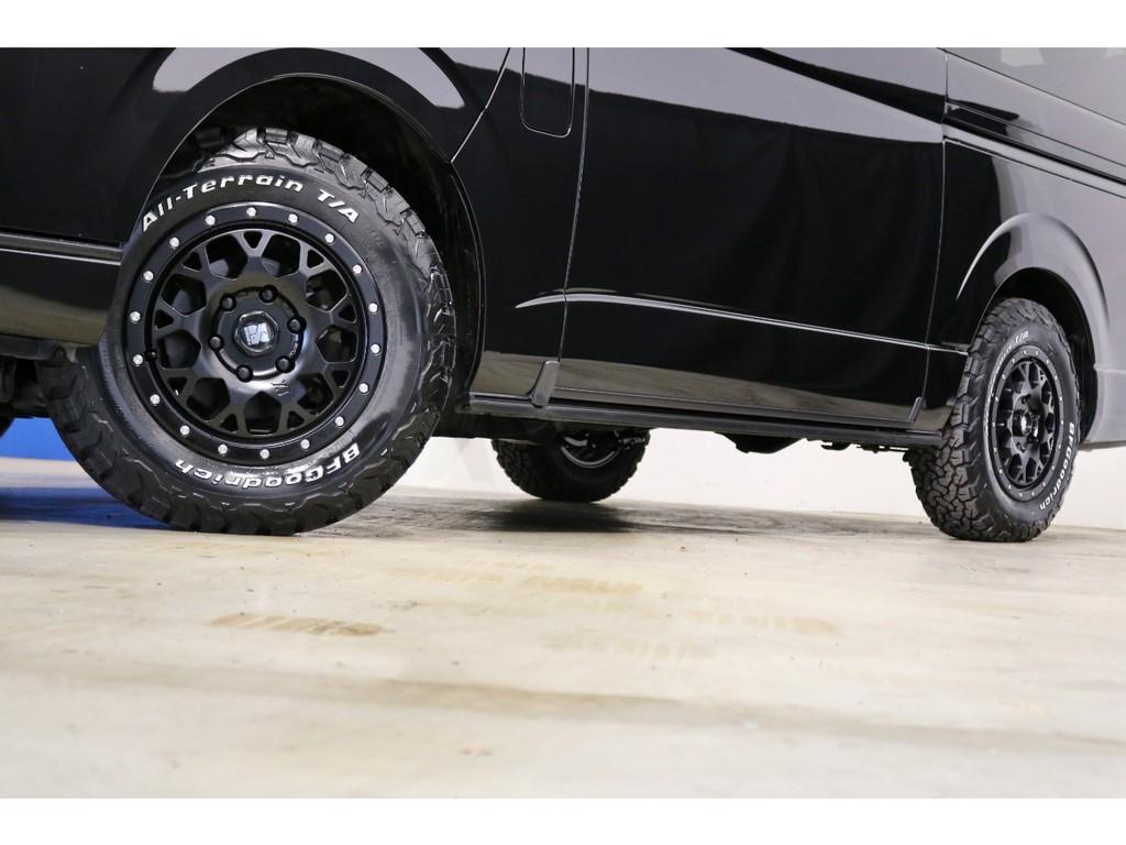ワイルドな新品アルミ&新品BFグッドリッチオールテレーンタイヤ