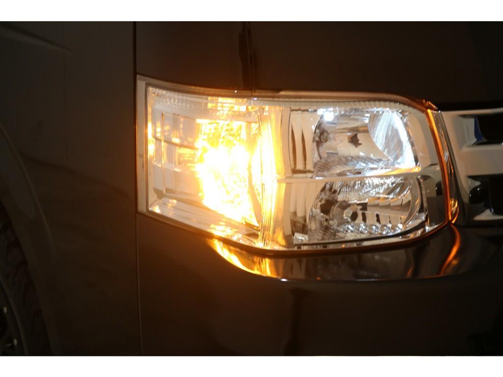 ウインカーポジションもLEDで明るさを際立たせます!