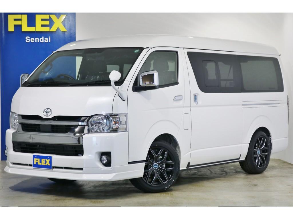 ★ハイエースワイドバン 2.7 4WD車両 新型 パールホワイト!!★