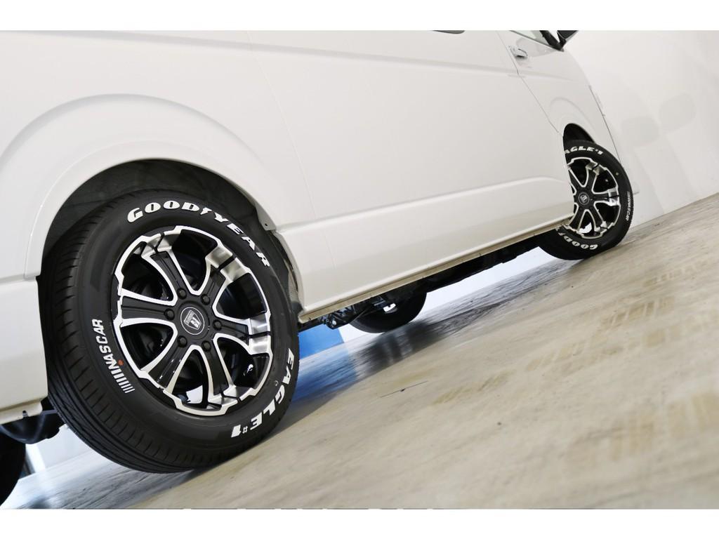 【新品】バルベロW/D17インチアルミホイール&グッドイヤーナスカータイヤ!