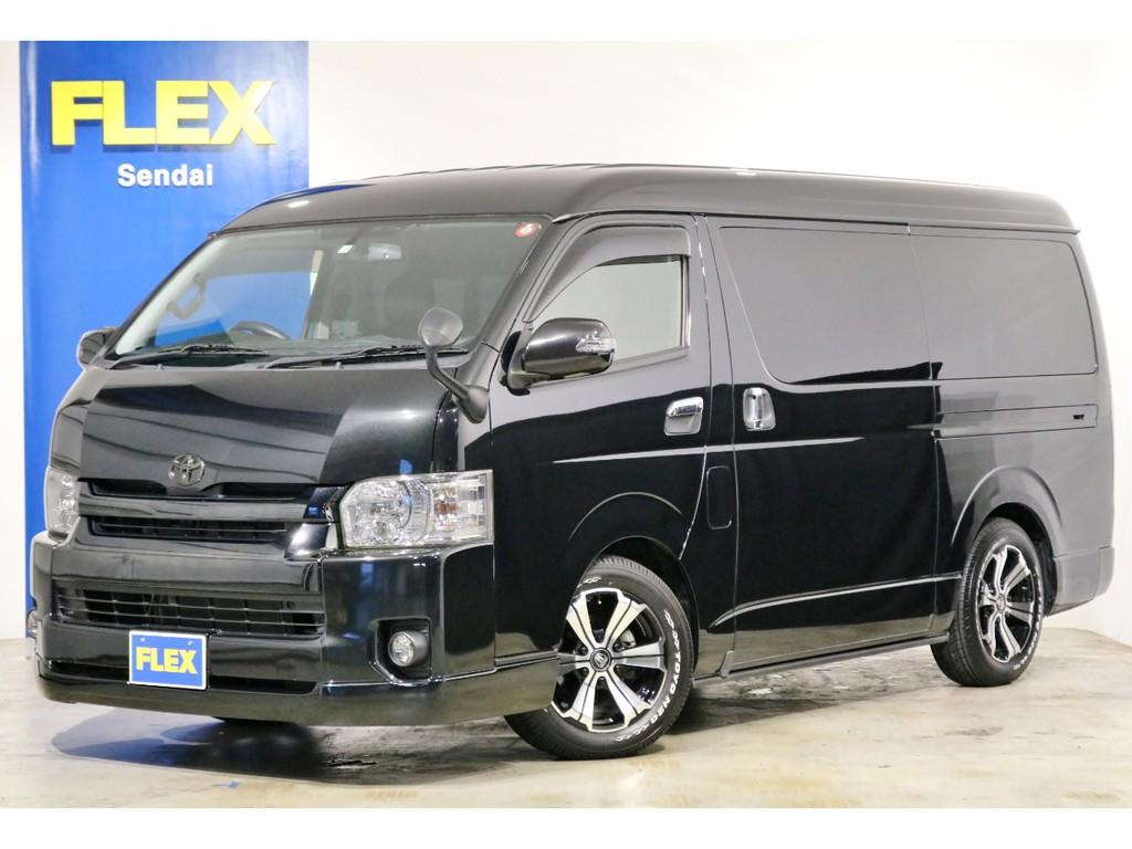 ★買取直販 4型 ハイエースワゴンGL 4WD シートアレンジ車両!★