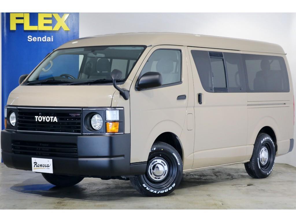 ★21年 2型 ワゴンGL 4WD アレンジVer1内装架装 7.3万キロ★