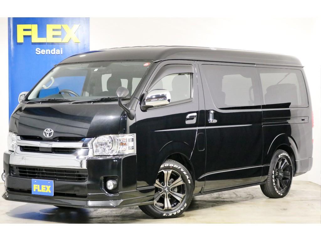 ★30年 ハイエースワゴンGL 4WD ブラックマイカ 買取直販車両!!★