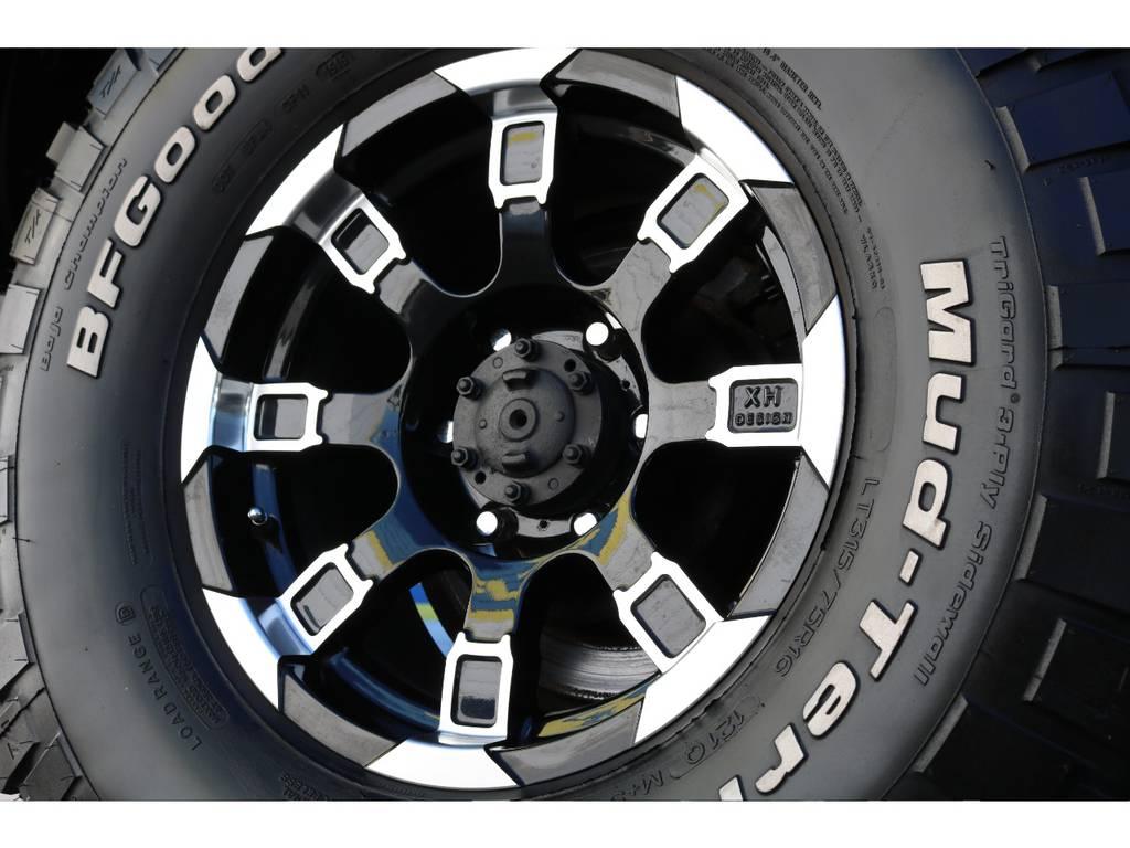 16インチAWにBF315MTタイヤの組み合わせ!   トヨタ ランドクルーザー80 4.5 VXリミテッド Gパッケージ 4WD 角目四灯 3インチUP