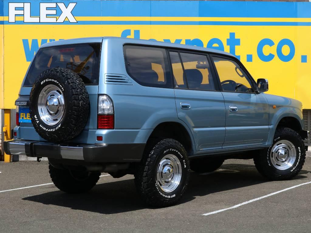 愛車と一緒に、ライフスタイルを充実させてもらいたいという思いで、ランクル仙台泉店では皆様のご要望になんでもお応えします★ | トヨタ ランドクルーザープラド 3.0 TX ディーゼルターボ 4WD Renoca アメリカンクラシック