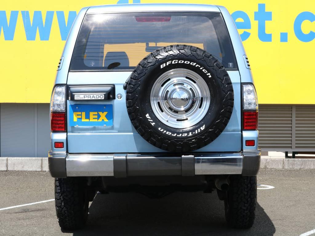 自社認証整備工場完備ですので納車後のカスタム、車検、修理、日々のメンテナンス、など全力でサポートいたします!なんでもお気軽にご相談ください★他店で購入した、お持ち込み車両でも大歓迎ですよ! | トヨタ ランドクルーザープラド 3.0 TX ディーゼルターボ 4WD Renoca アメリカンクラシック