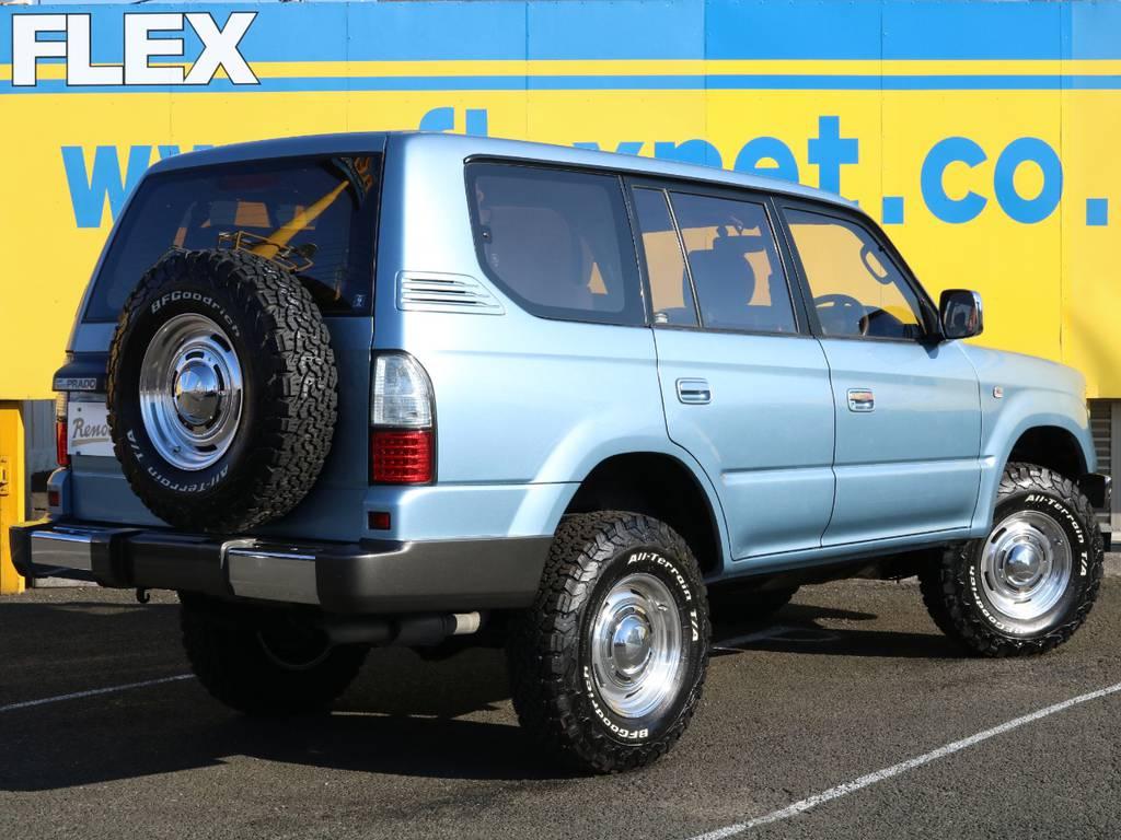 愛車と一緒に、ライフスタイルを充実させてもらいたいという思いで、ランクル仙台泉店では皆様のご要望になんでもお応えします★   トヨタ ランドクルーザープラド 3.0 TX ディーゼルターボ 4WD Renoca アメリカンクラシック