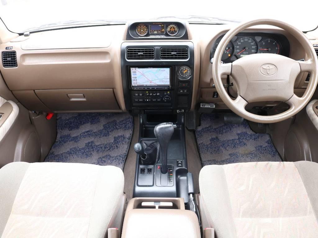 ★FLEXグループは「すべての人に愛車を」をコンセプトに車種別に全国展開中★   トヨタ ランドクルーザープラド 3.0 TX ディーゼルターボ 4WD Renoca アメリカンクラシック