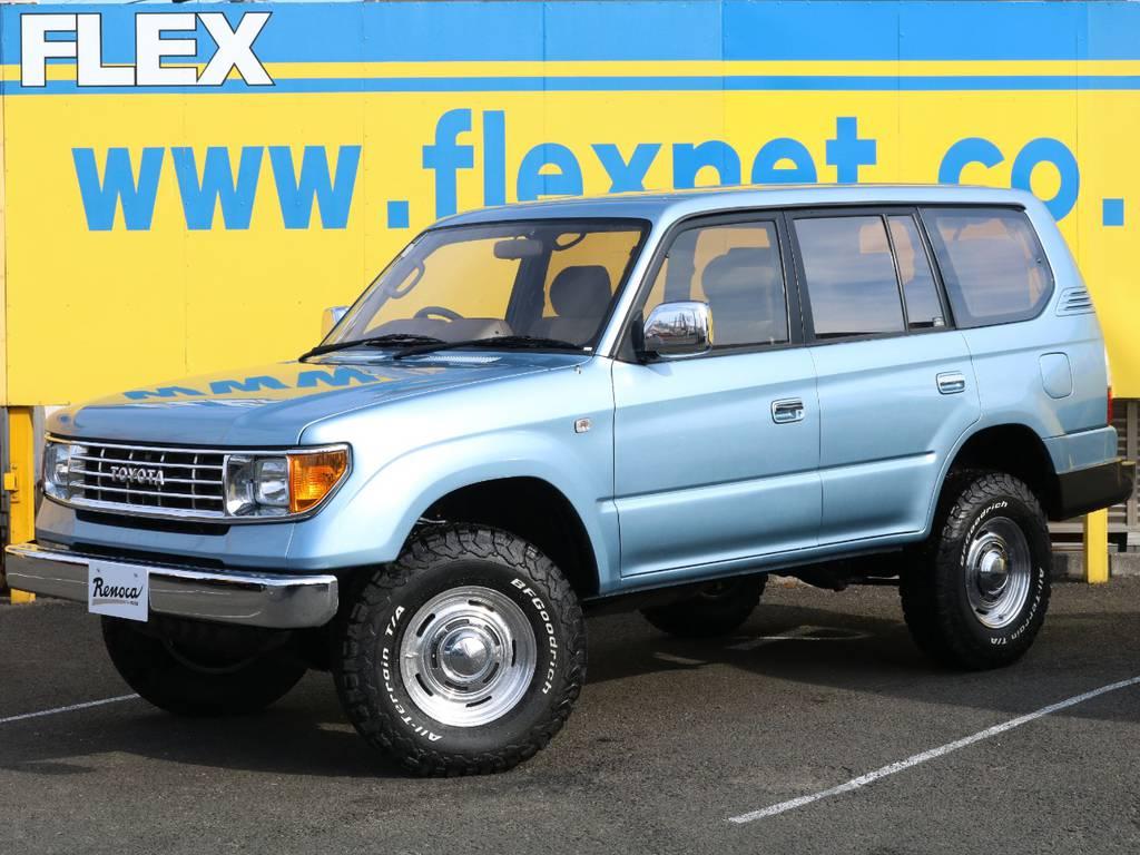 FLEX original concept【AMERICAN CLASSIC】   トヨタ ランドクルーザープラド 3.0 TX ディーゼルターボ 4WD Renoca アメリカンクラシック