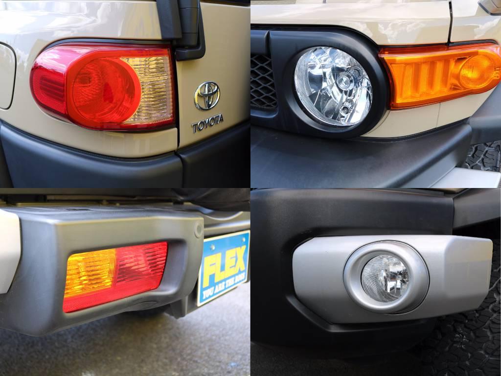専門店ならではの厳選仕入れによる、良質な1台を皆様にお届けいたします!可能な限りお車の使用履歴にこだわってます!オフロード走行無し、点検整備記録簿の有無、前使用環境など!クオリティーを最重要してます! | トヨタ FJクルーザー 4.0 カラーパッケージ 4WD 新品17AW&KO2 ルーフレール