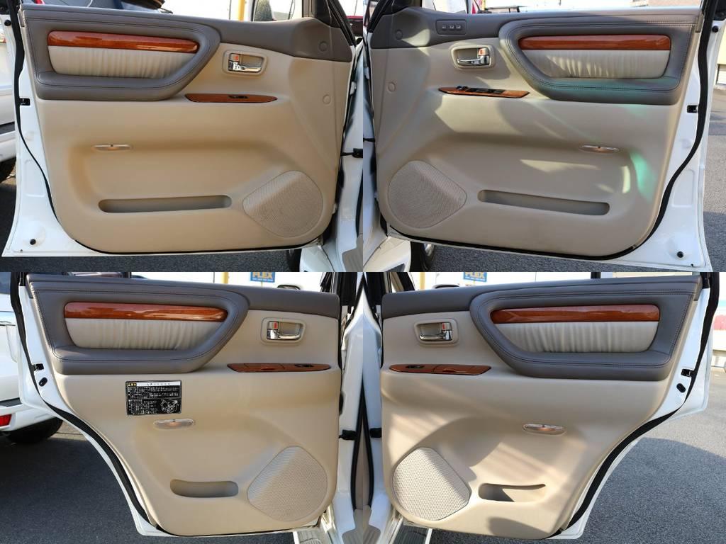 当店の在庫車は全て車輌検査専門会社である第三者機関(株)AIS、日本自動車鑑定協会(JAAA)にて1台1台、必ず二重の車輌チェックを実施しております。修復歴有りの車、事故車の無断販売はいたしません。 | トヨタ ランドクルーザーシグナス 4.7 4WD 最終型 マルチレス 本革 SR