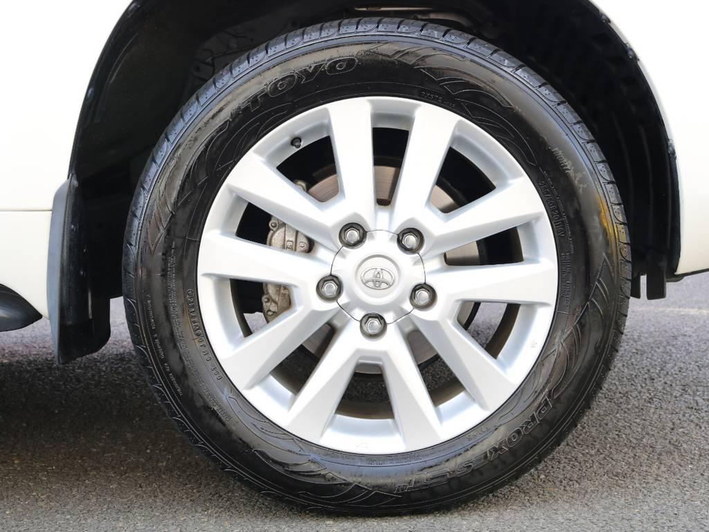 ZX専用20inchアルミホイール★オプション等では無く、ZXの専用装備なので、なかなか手に入りづらい装備です!状態も良いです★ | トヨタ ランドクルーザー200 4.6 AX 4WD 中期 ワンオーナー ZX用20AW