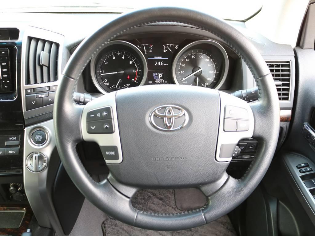 トヨタメーカー保証も残ってます!平成31年12月or10万kmのいづれか到達が早い方まで適応です★遠方にお住まいの方も、最寄りのトヨタディーラーさんで対応が可能なのでご安心ください★ | トヨタ ランドクルーザー200 4.6 AX 4WD 中期 ワンオーナー ZX用20AW