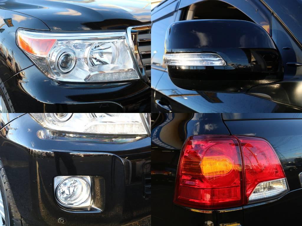 ランプ類は前期型に比べデザインが変更になり、よりスタイリッシュな印象になってます★ドアミラーウィンカーもついてますので、安全面でも向上してます★