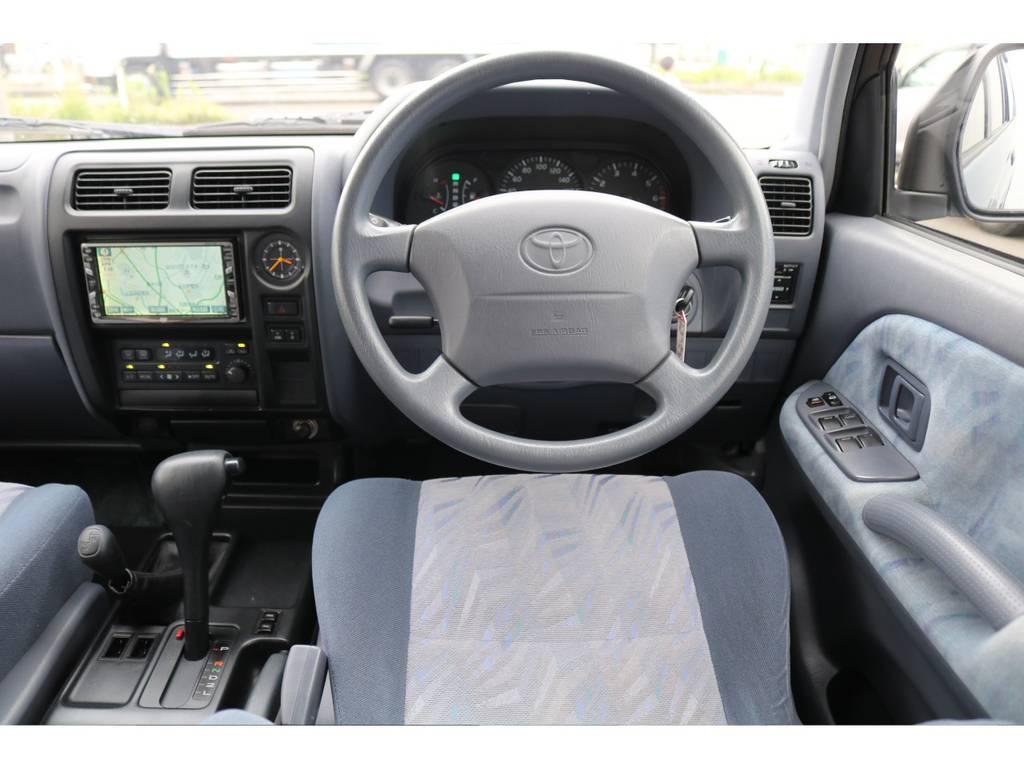 専門店ならではの厳選仕入れによる、良質な1台を皆様にお届けいたします!可能な限りお車の使用履歴にこだわってます!オフロード走行無し、点検整備記録簿の有無、前使用環境など!クオリティーを最重要してます! | トヨタ ランドクルーザープラド 2.7 TX 4WD NEWアルルブルー 丸目&ナローボディー
