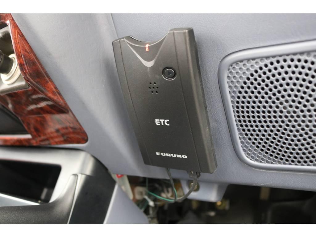 必需品のETCも完備☆ | トヨタ ランドクルーザープラド 2.7 TX リミテッド 4WD NEWベージュ 丸目&ナロー換装