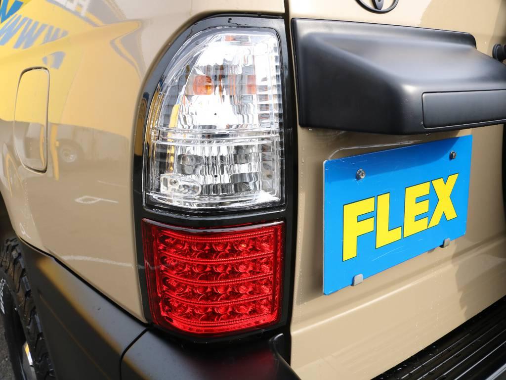 テールランプもLEDタイプに新品変更☆ | トヨタ ランドクルーザープラド 2.7 TX リミテッド 4WD NEWベージュ 丸目&ナロー換装