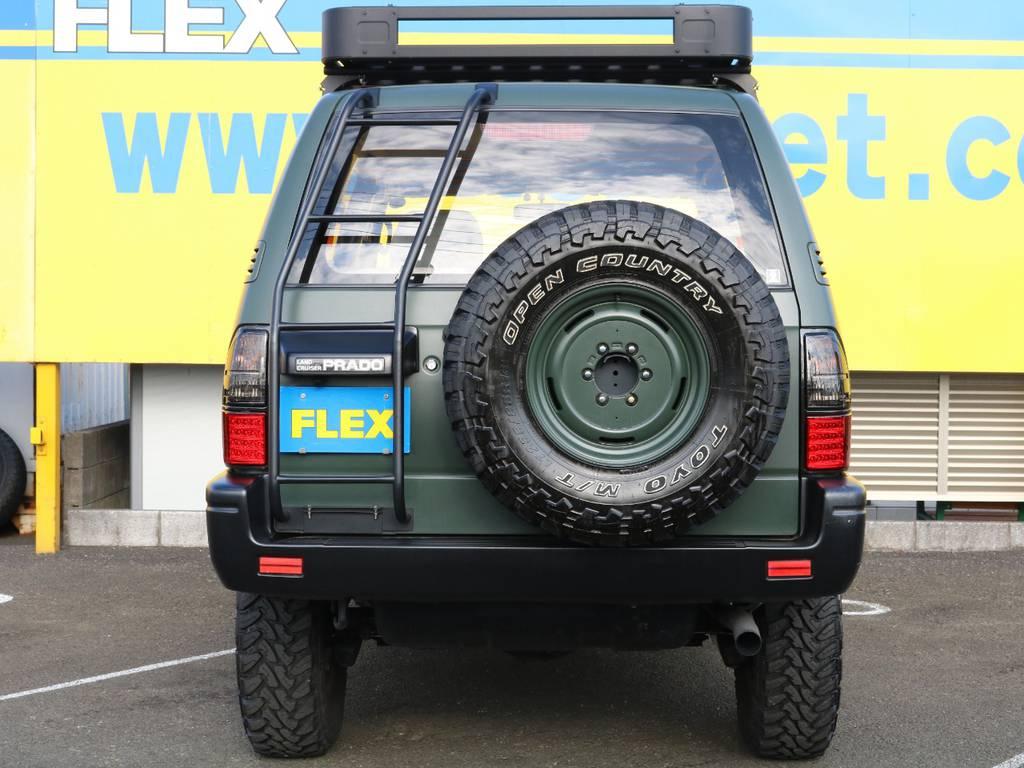 当店の在庫車は全て車輌検査専門会社である第三者機関(株)AIS、日本自動車鑑定協会(JAAA)にて1台1台、必ず二重の車輌チェックを実施しております。修復歴有りの車、事故車の無断販売はいたしません。 | トヨタ ランドクルーザープラド 3.0 TX ディーゼルターボ 4WD アーミーグリーン 丸目&ナロー換装