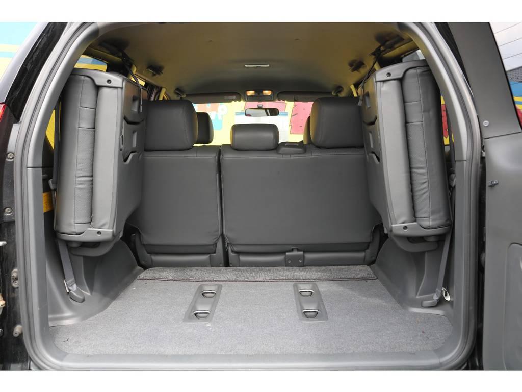 当店の在庫車は全て車輌検査専門会社である第三者機関(株)AIS、日本自動車鑑定協会(JAAA)にて1台1台、必ず二重の車輌チェックを実施しております。修復歴有りの車、事故車の無断販売はいたしません。   トヨタ ランドクルーザープラド 2.7 TXリミテッド 4WD 本革 MID17AW&KO2 2UP