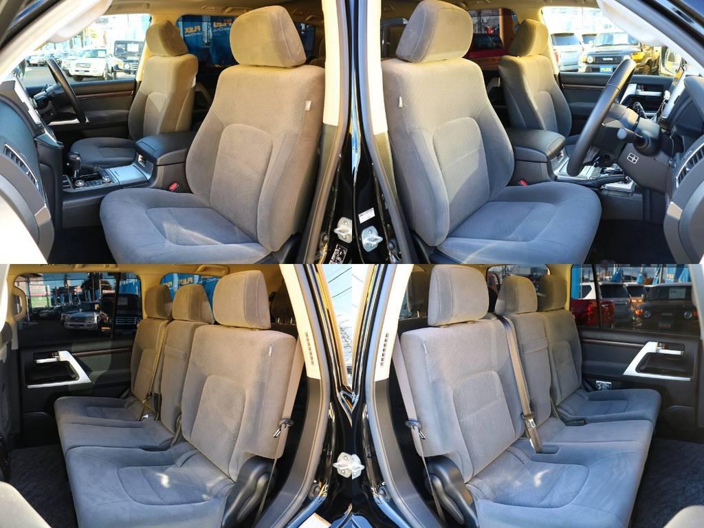 各シートの状態もグッドコンディションです★ | トヨタ ランドクルーザー200 4.6 AX 4WD 現行型 ZX仕様 モデリスタエアロ