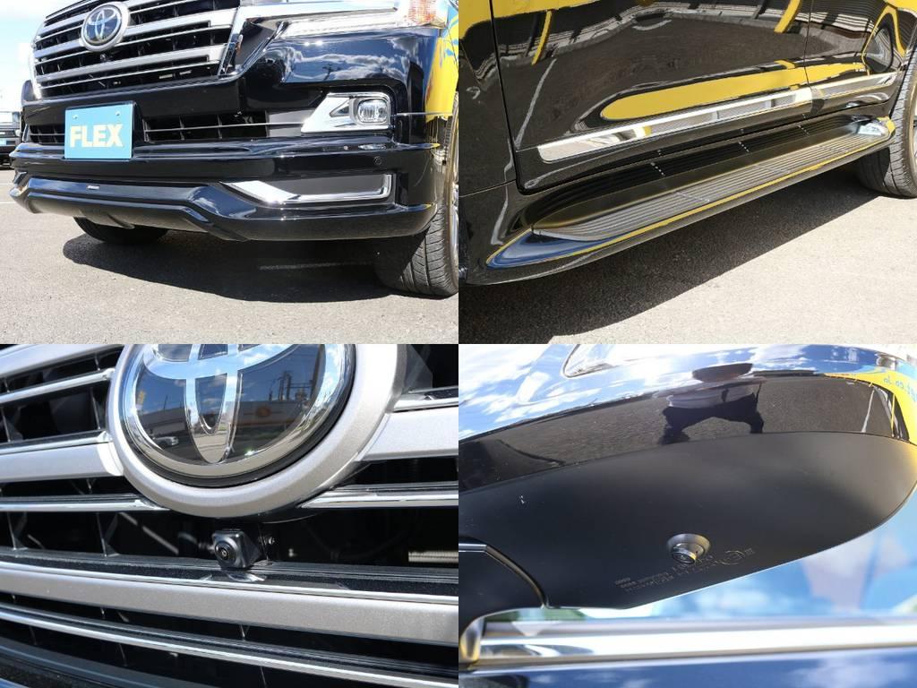 当店の在庫車は全て車輌検査専門会社である第三者機関(株)AIS、日本自動車鑑定協会(JAAA)にて1台1台、必ず二重の車輌チェックを実施しております。修復歴有りの車、事故車の無断販売はいたしません。 | トヨタ ランドクルーザー200 4.6 AX 4WD 現行型 ZX仕様 モデリスタエアロ