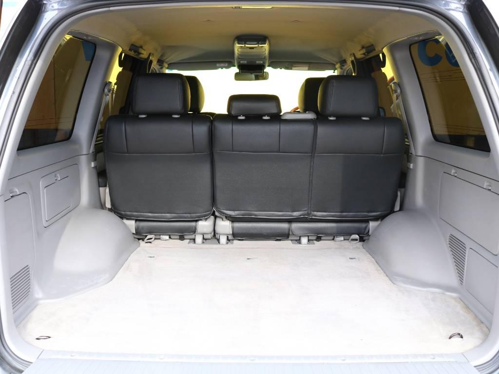 当店では納車後1年間(走行距離数無制限)の無料保証をお付けしております!遠方にお住まいの方も、最寄りの整備工場にて修理対応が可能なのでご安心ください★保証期間中は何度でも使用可能です★ | トヨタ ランドクルーザー100 4.7 VX 4WD マルチレス 5速AT 新品22インチAW