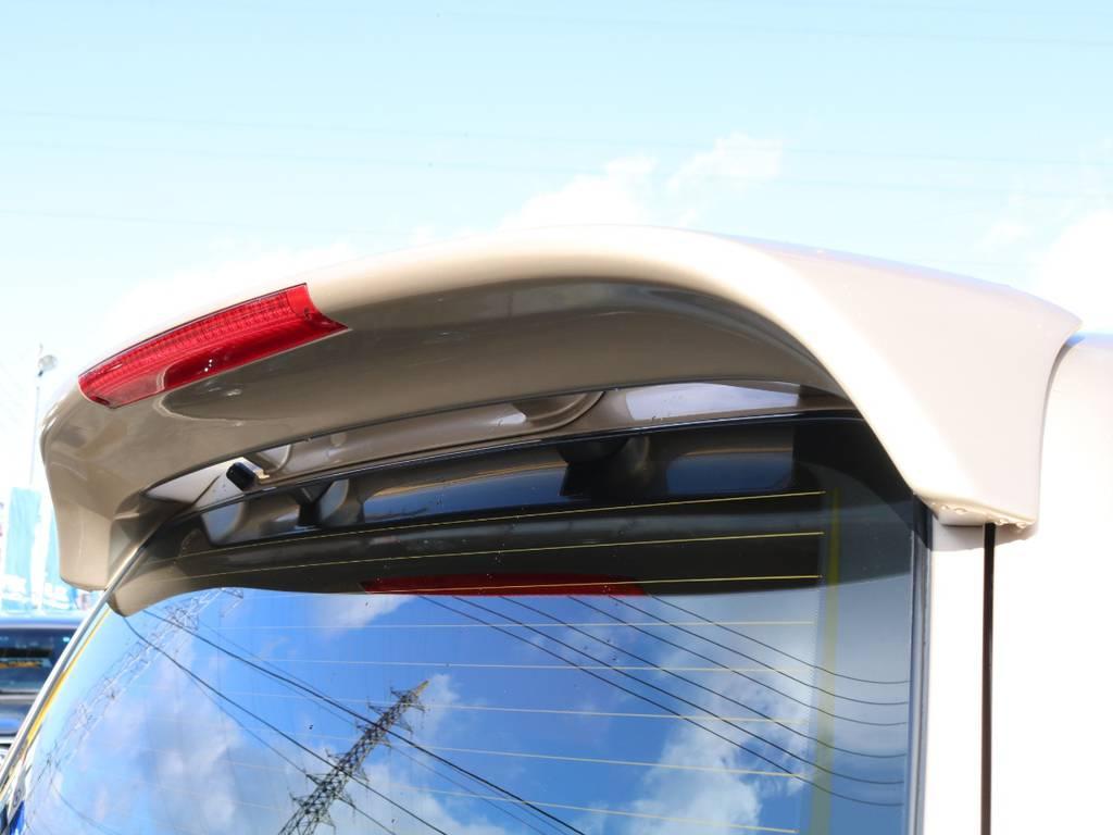 リヤルーフスポイラー★ | トヨタ ランドクルーザーシグナス 4.7 4WD マルチレス フルエアロ 23インチAW