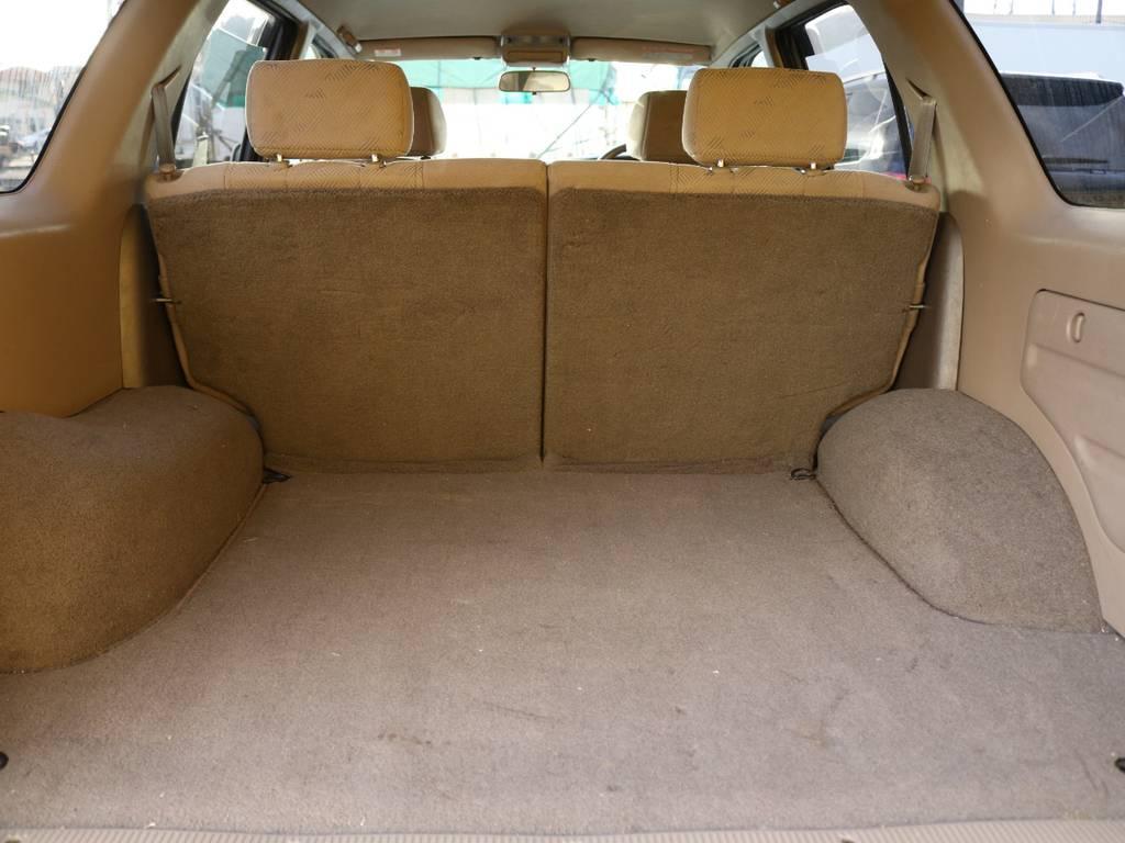 トランクルームも広々スペースで沢山の荷物を積み込むことが出来ます♪ | トヨタ ハイラックスサーフ 2.7 SSR-V 4WD 低走行9万km 新車ワンオーナー