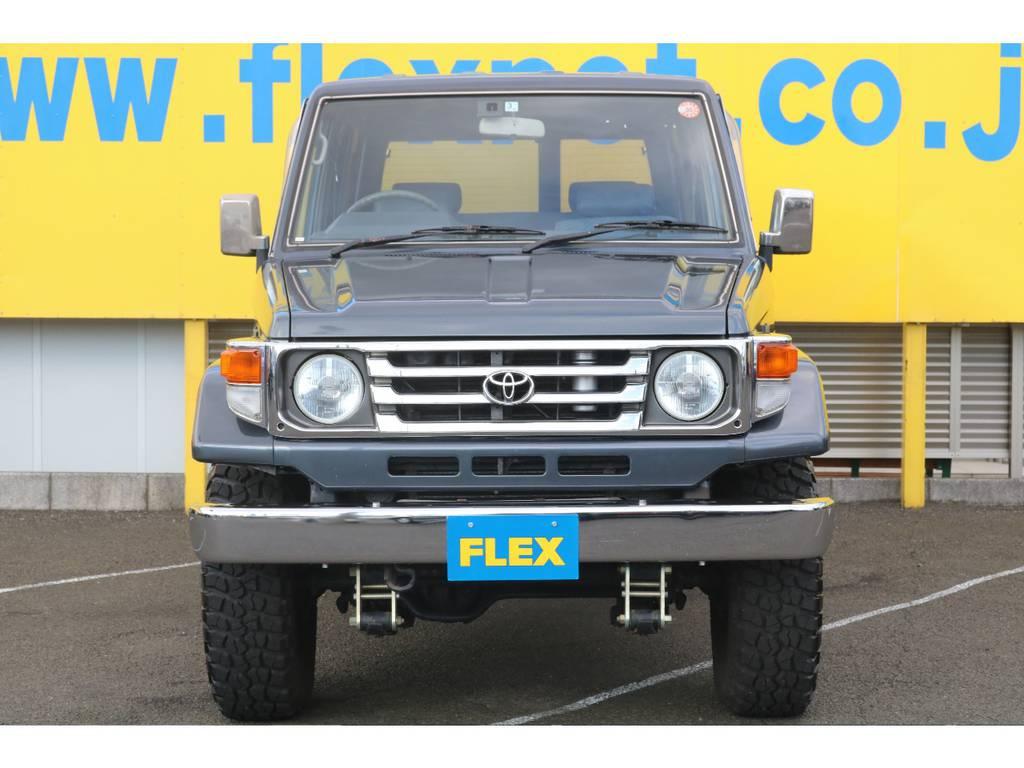 業界最高品質の全故障に対応する保証をご利用いただけます。3パターンの上限金額選択型で、車購入~手放しまでの全期間加入する事も可能です。詳細はスタッフまでお問い合わせください。   トヨタ ランドクルーザー70 3.5 LX ディーゼル 4WD ナロー 5MT 76フェイス 輸出用SW