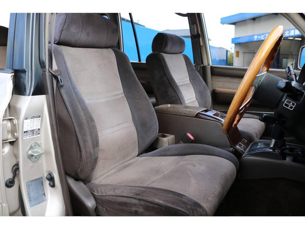 各シート劣悪なダメージも無くコンディションは良好です★VXリミテッド専用のエクセーヌシートは肌触りも良く、座り心地の良い生地ですよ♪