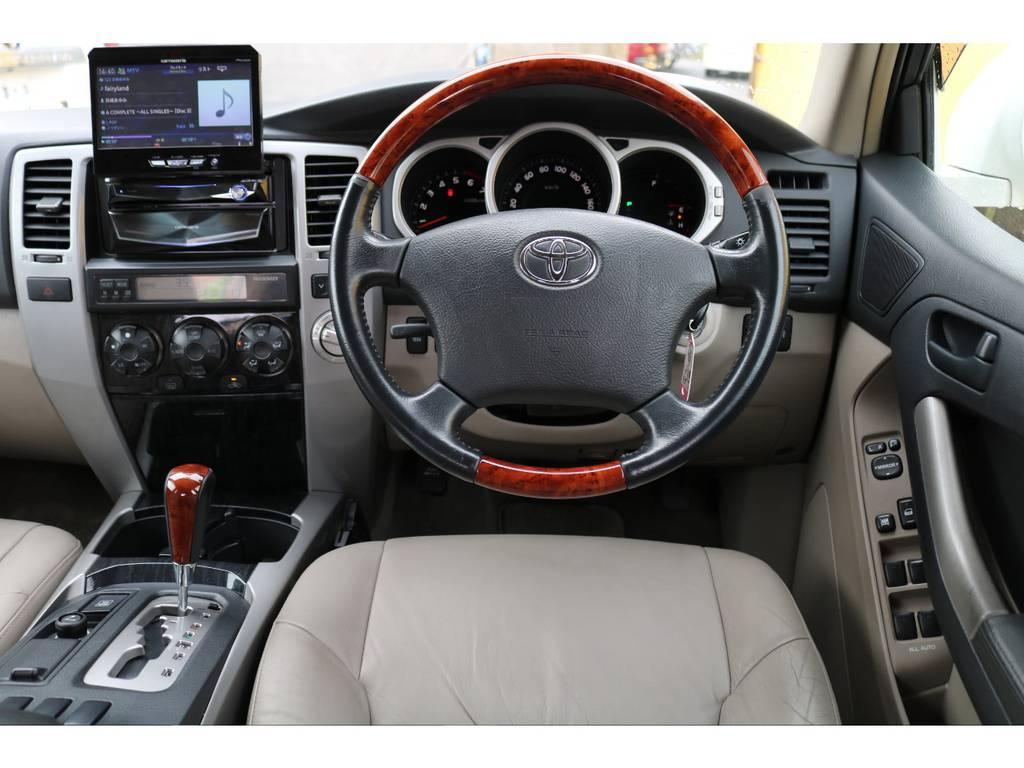 当店の在庫車は全て車輌検査専門会社である第三者機関(株)AIS、日本自動車鑑定協会(JAAA)にて1台1台、必ず二重の車輌チェックを実施しております。修復歴有りの車、事故車の無断販売はいたしません。 | トヨタ ハイラックスサーフ 2.7 SSR-G 4WD MGヴァンパイア17AW&KO2 2UP