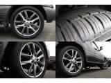 新品のLXルック ハイグロス22インチアルミホイールを装着済み!!ブラックのボディーカラーにマッチする高級感あるデザインになってます★もちろんタイヤも新品♪