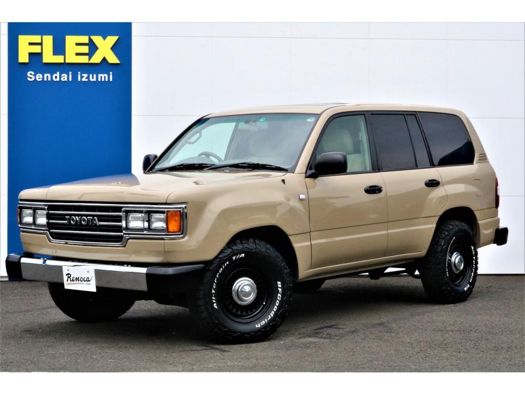 FLEXがお送りする車選びの新しい選択肢【Renoca】の中でも大人気の【106】完成しました!ランクル100をベースに60角目フェイスをインストール★全てイチからのオーダー制作となります♪