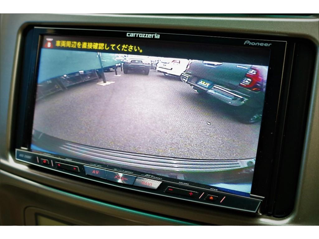 バックカメラも付いてます!運転に不安な方もご安心ください!嬉しい装備ですよね♪
