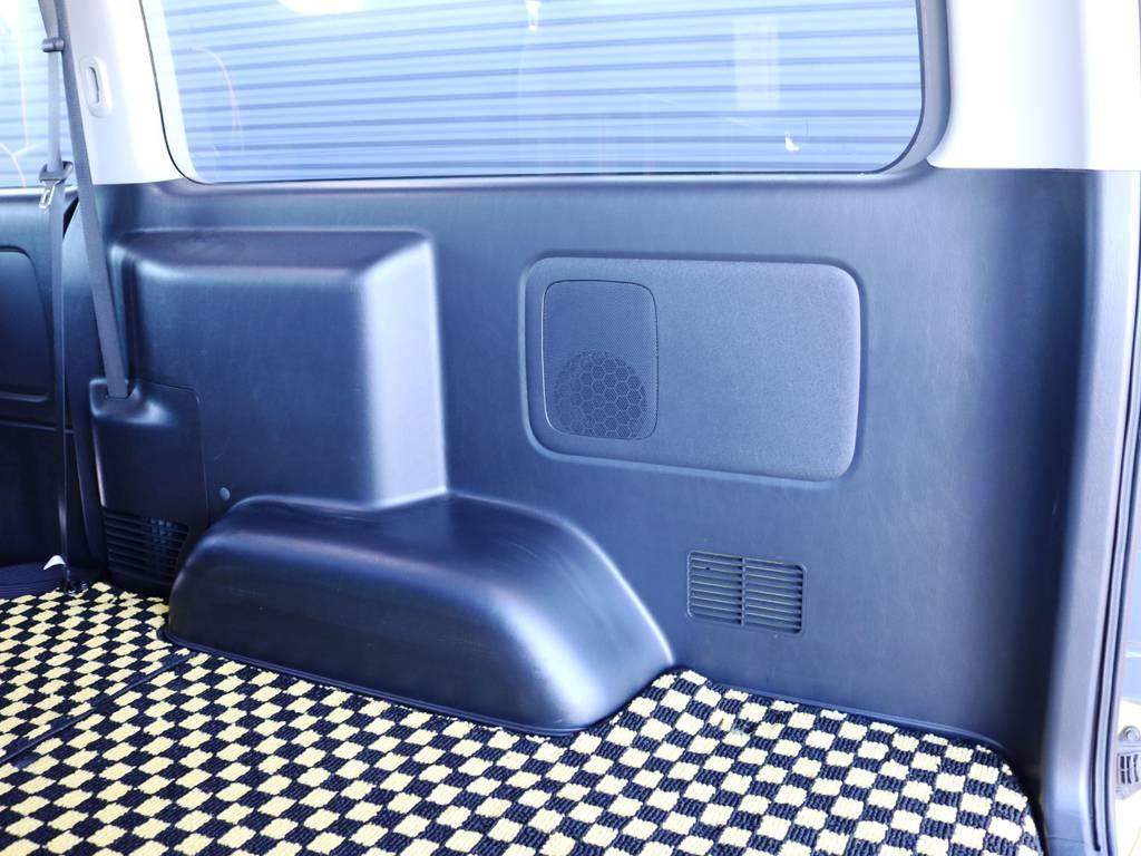 運転席側 荷室トリム(壁)の状態!使用に伴う小傷がございます。 | トヨタ ハイエースバン 2.0 スーパーGL ロング 特設カラー イエロー 千葉北店元試乗車