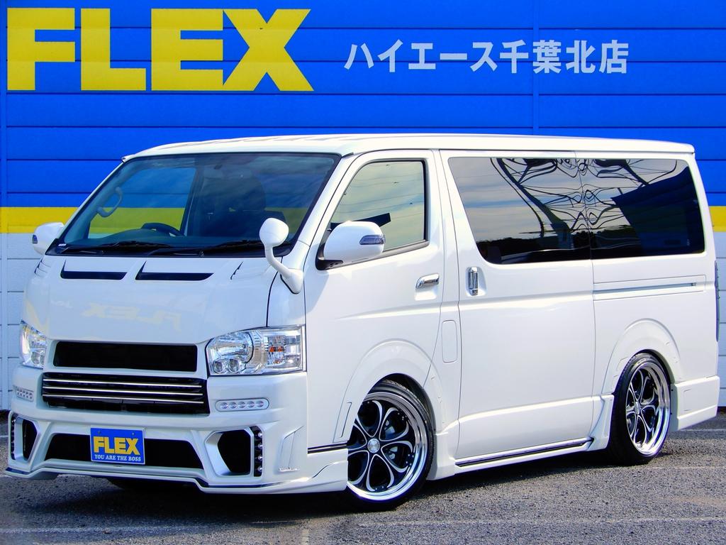 新車ハイエースV「S-GL」5人乗り【ROWEN CROSS†BLAZE】フルエアロコンプリート!Heartsブラッディクロス19AW・SD