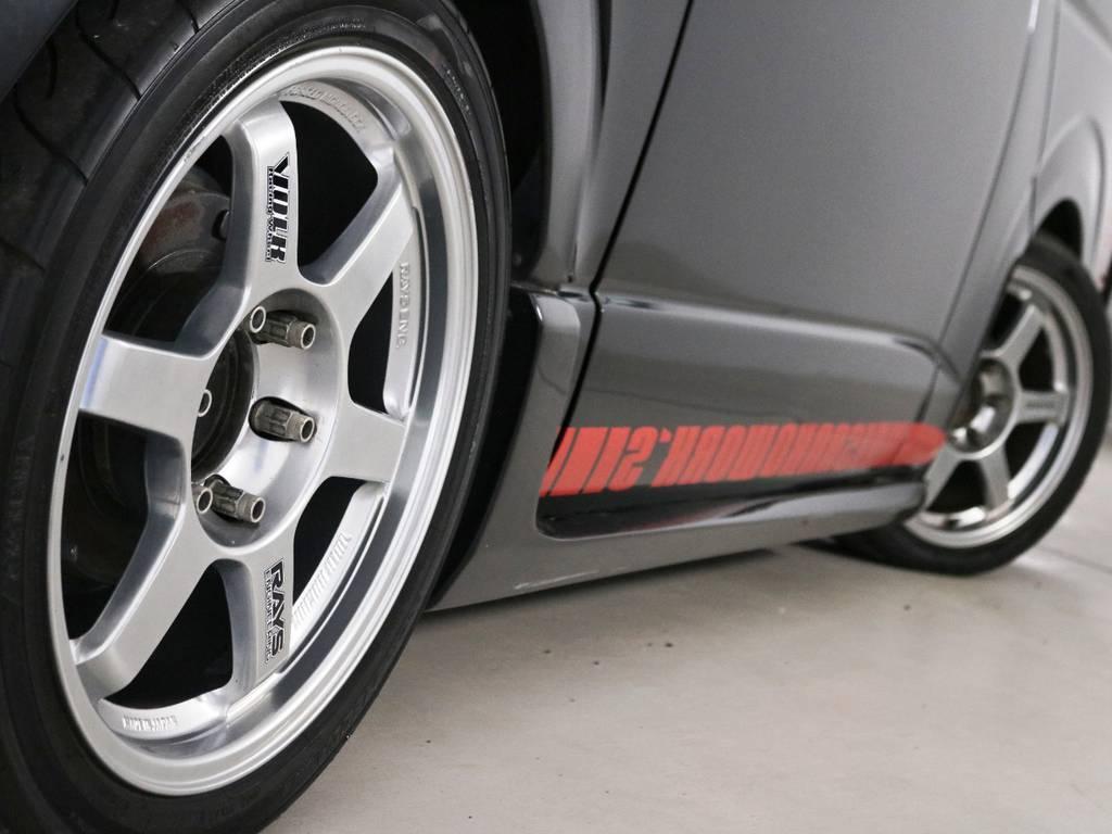 Rays TE37! | トヨタ ハイエースバン 2.7 スーパーGL ワイド ロング ミドルルーフ 3型フェイスチェンジ ワイドバン