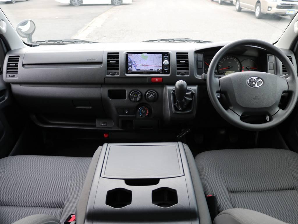 内装の追加カスタム等もお任せ下さい! | トヨタ ハイエースバン 2.0 DX ロング 5MT スポーツカスタムパッケージ