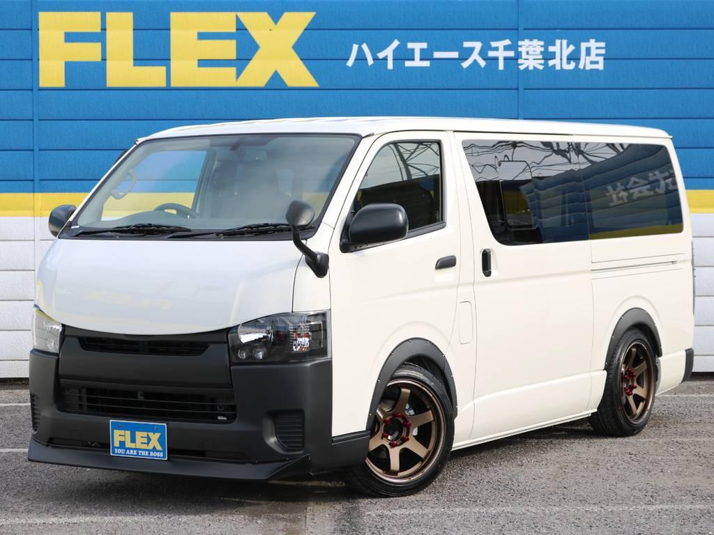 新車未登録ハイエースバン DX 5速MT ガソリン2WD スポーツカスタムパッケージ! | トヨタ ハイエースバン 2.0 DX ロング 5MT スポーツカスタムパッケージ