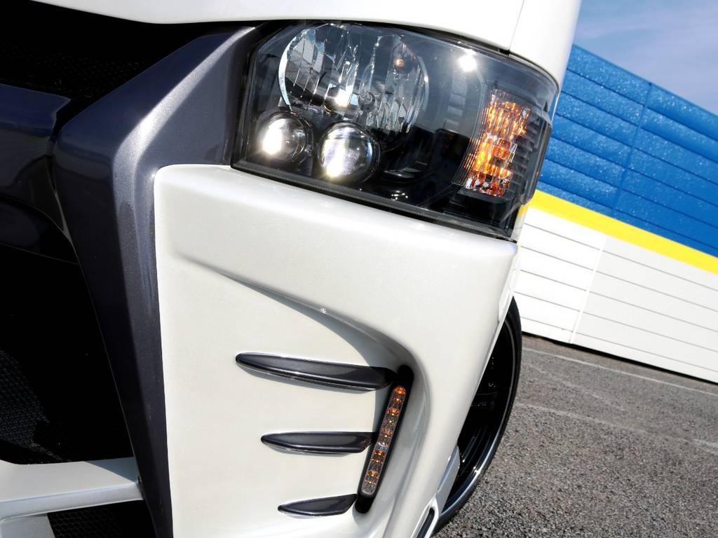 4型純正LEDヘッドライト インナーブラック加工!