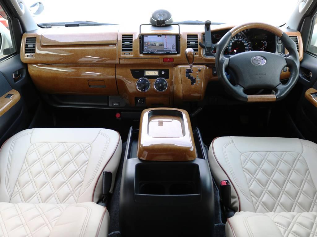 内外装クリーニング済み♪ | トヨタ ハイエースバン 2.0 スーパーGL ロング 3型 フルエアロ