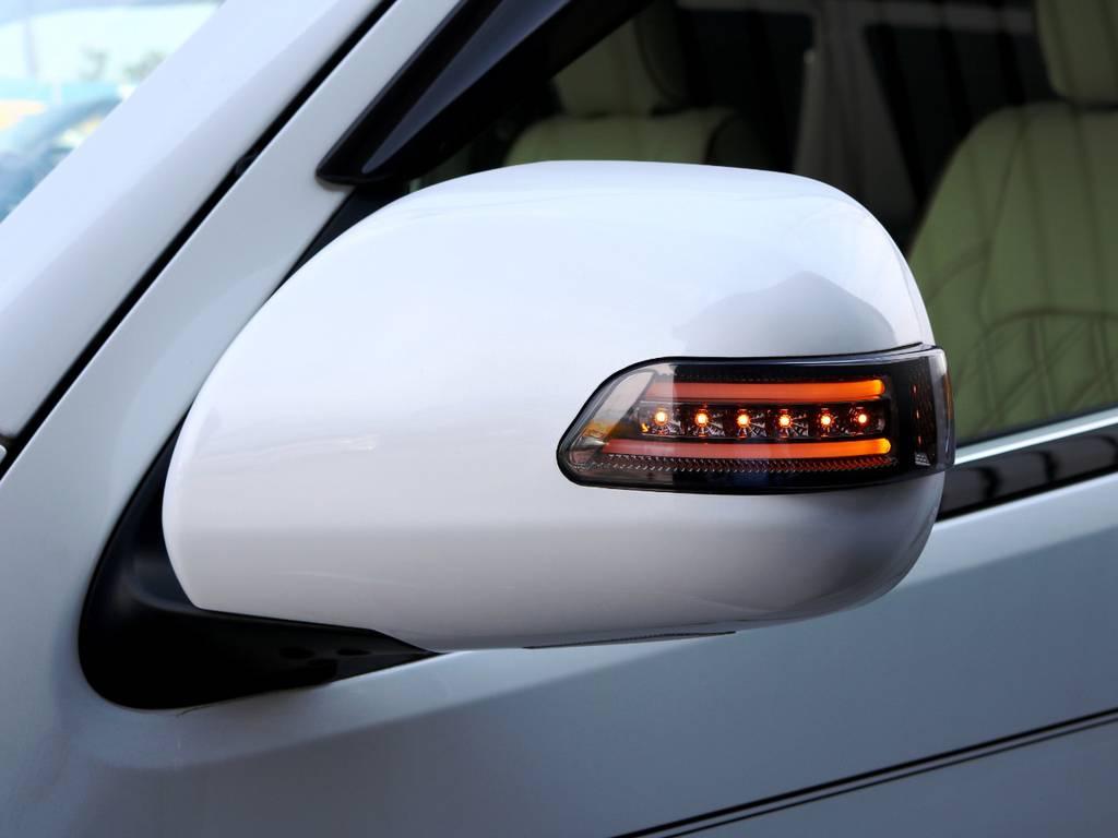 ヴァレンティ LEDウィンカーミラー! | トヨタ ハイエースバン 2.0 スーパーGL ロング 3型 フルエアロ
